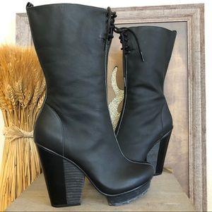 Timo Weiland Tsubo Platform Wedge Heel Boots